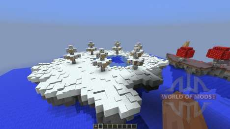 Forbidden Isles para Minecraft