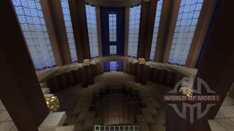 Unreal Tournament 1999 PvP DM-Fractal para Minecraft
