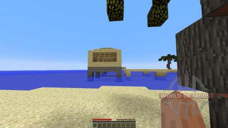 Holiday island para Minecraft