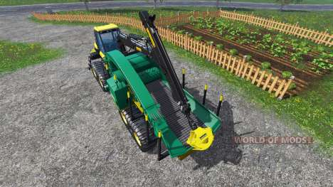 PONSSE Buffalo Wood Chipper v1.1 para Farming Simulator 2015