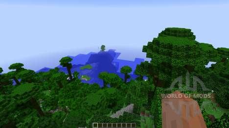 Paradise Island para Minecraft