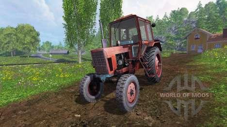 MTZ-80 [rojo] v2.0 para Farming Simulator 2015