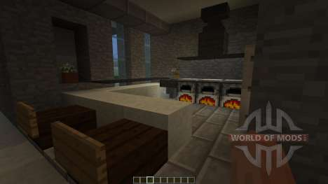 Fade A minimalist modern home pop reel para Minecraft