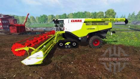 CLAAS Lexion 770TT para Farming Simulator 2015