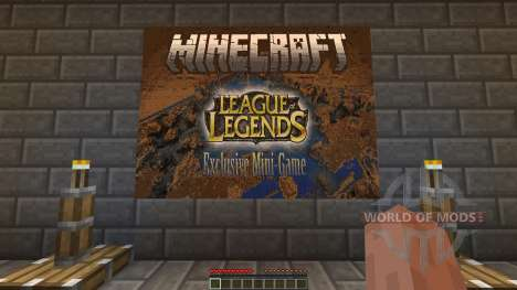 League of Legends Exclusive Mini-Game para Minecraft