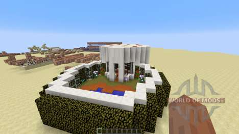 Inspired Version of Blocks Vs. Zombies para Minecraft