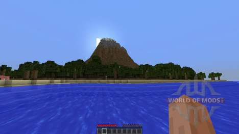 Berg Bol Island-Survival Map para Minecraft