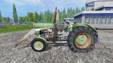Ursus C-4011 with front loader para Farming Simulator 2015