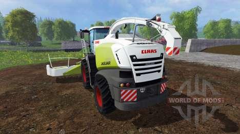 CLAAS Jaguar 870 v2.0 para Farming Simulator 2015