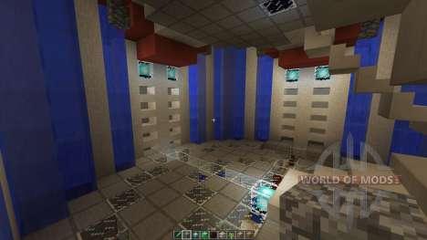 Dyans Floating Battle Island para Minecraft