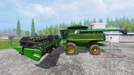 John Deere 9870 STS para Farming Simulator 2015