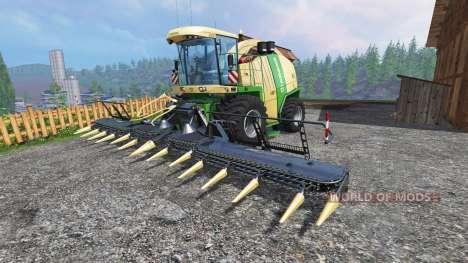 Krone Big X 1100 [tank 300000 liters] [crusher] para Farming Simulator 2015