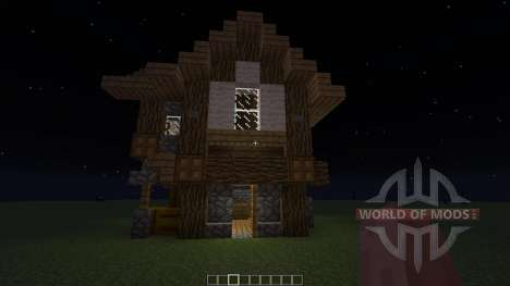 Small Medieval House para Minecraft