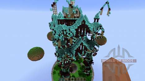 DRAGON THEMED MAJESTIC HUB para Minecraft