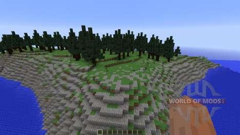 Pine Forest para Minecraft