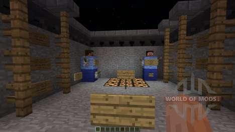 Trench War minigame para Minecraft