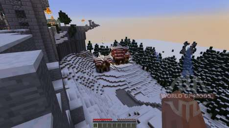 Coldcroth Province of Bone and Scale para Minecraft