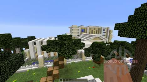 Modern Island Mansion para Minecraft