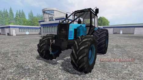 MTZ-1221 Bielorruso [bosque edition] para Farming Simulator 2015
