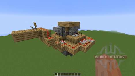 Seamless in ground piston trap para Minecraft