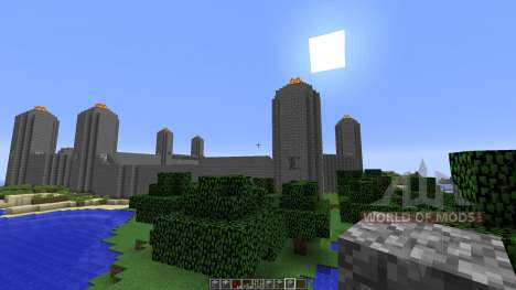 Unfinished City para Minecraft