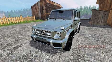 Mercedes-Benz G65 AMG para Farming Simulator 2015
