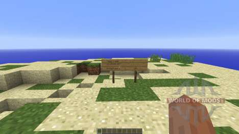 Survival Island STEVE STYLE para Minecraft