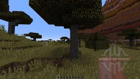 Mesa Savannah Canyons para Minecraft