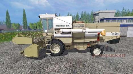 Fortschritt E 514 para Farming Simulator 2015