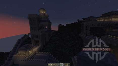 Cair Paravel Castle para Minecraft
