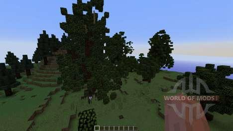Pine island para Minecraft