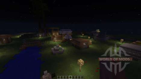 Airnd City of death and darkness para Minecraft