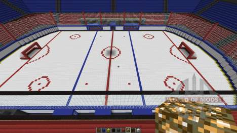 Oustanding Outdoor Hockey Arena para Minecraft