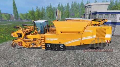 Grimme Tectron 415 [orange edition] para Farming Simulator 2015