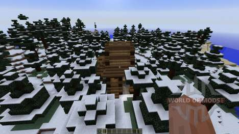 Small winter home para Minecraft
