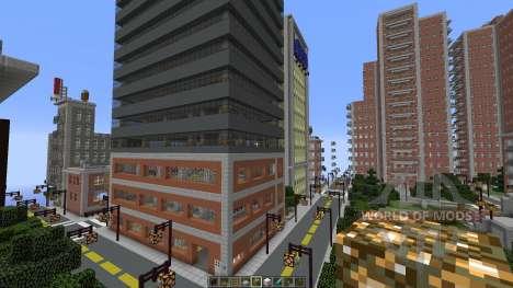 Liberty Craft City para Minecraft