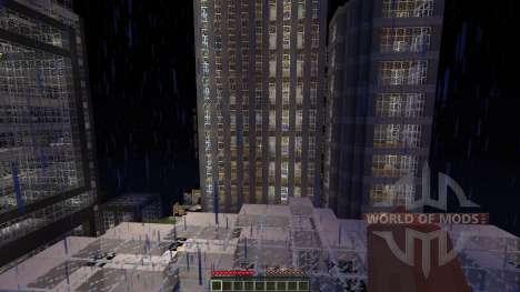 LeafCREEP City para Minecraft