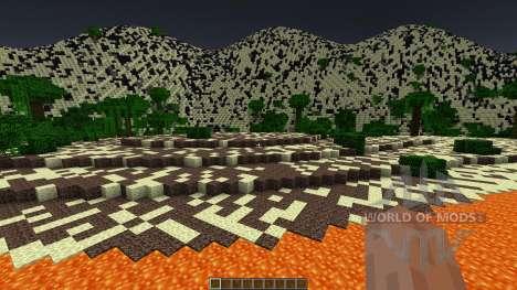 Fire Desert - Custom Terrain para Minecraft