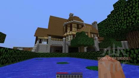 Minecraft map The Mansion para Minecraft