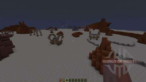 Star Wars Geonosis map para Minecraft