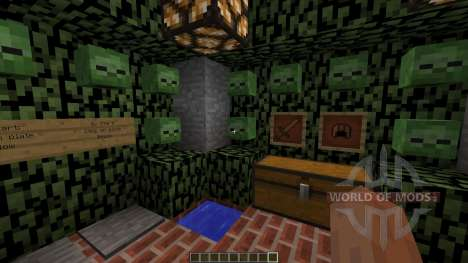Zombie Survival Map para Minecraft