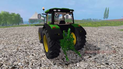 John Deere 6170R v3.5 para Farming Simulator 2015