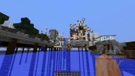 Mechanic City para Minecraft