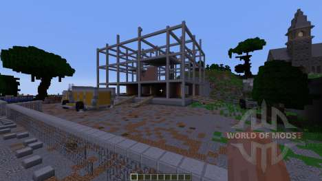 Shady Hollow Minecraft Survival Games Map para Minecraft