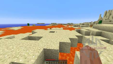 The Desert Survival para Minecraft
