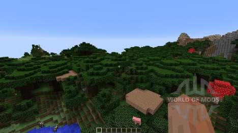 CandyLand Adventure Parkour Map para Minecraft