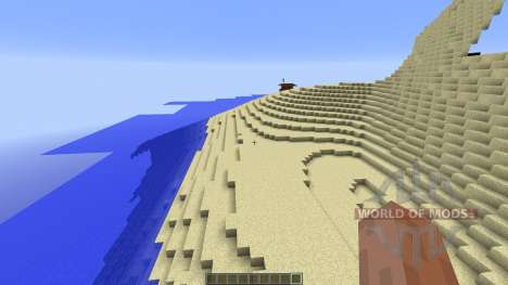 The Dunes Beach para Minecraft