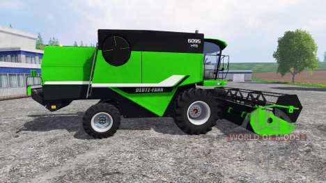 Deutz-Fahr 6095 HTS para Farming Simulator 2015