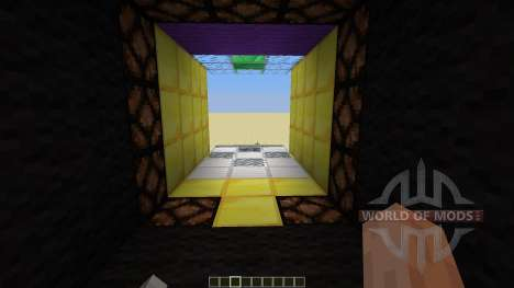 3 X 3 Piston door para Minecraft