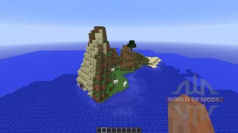 Tropical survival island para Minecraft